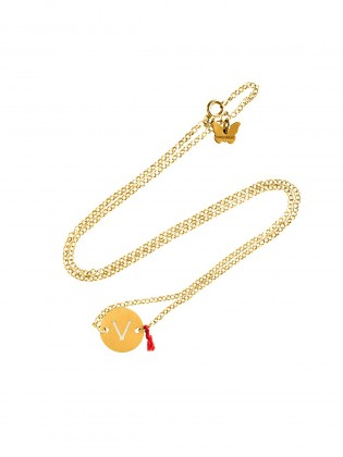 "LOVE LETTERS ""V"" NECKLES"