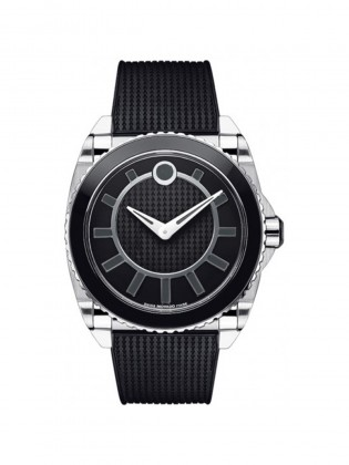MOVADO MASTER AUTOMATIC BLACK DIAL STANILESS STEEL