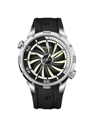 PERRELET TURBINE DIVER MENS WATCH