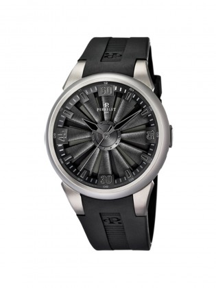 PERRELET TURBINE TITANIUM MEN'S WATCH