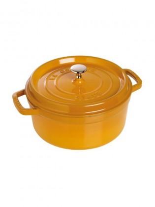 Staub posuda krug Mustard 22 cm