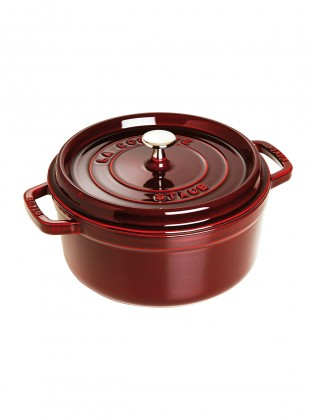 Staub posuda krug Round Cocotte Red 24 cm