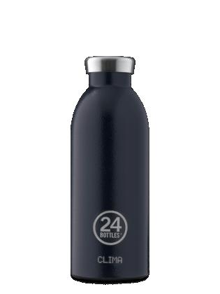 Boca 24bottles Clima Bottle Rustic Deep Blue