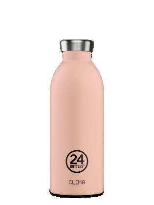 Boca 24bottles Clima Bottle Stone Dusty Pink