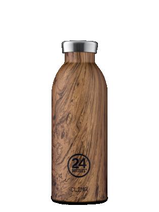 Boca 24bottles Clima Bottle Wood Sequoia