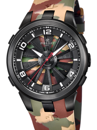 PERRELET TURBINE CAMO LIMITED MEN'S WATCH