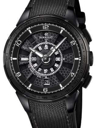 PERRELET TURBINE CHRONO MEN'S WATCH