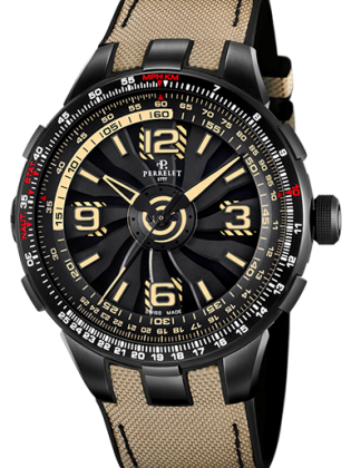 PERRELET TURBINE PILOT GRAND MEN'S WATCH