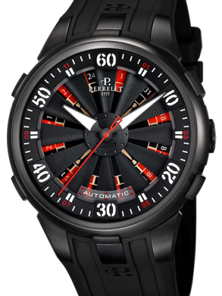 PERRELET TURBINE ROULETTE MEN'S WATCH