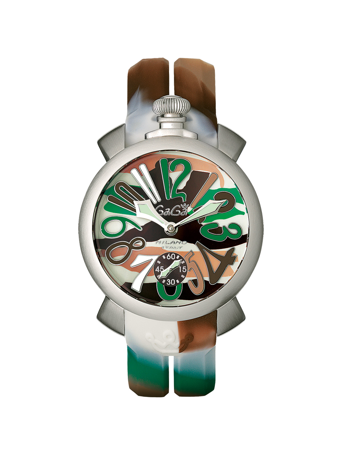 GAGA MILANO MANUAL 48 MM CAMOUFLAGE