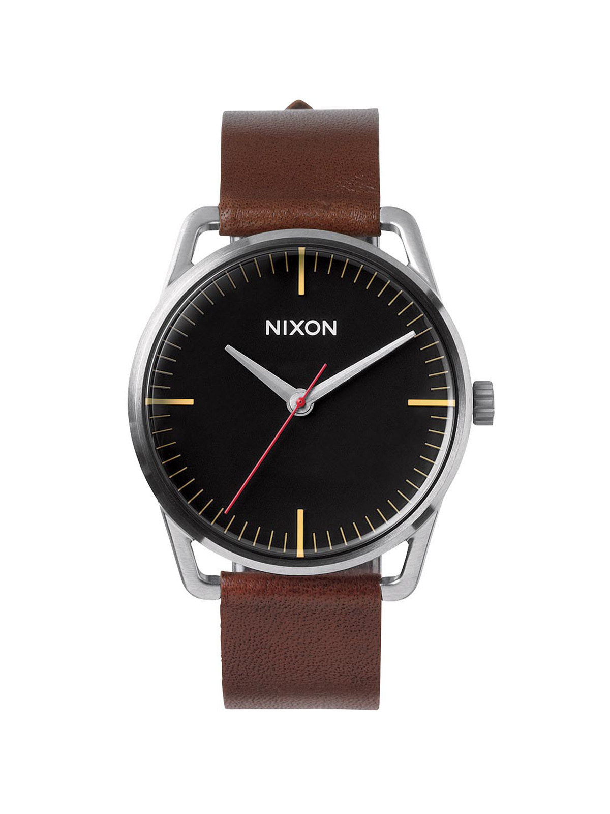 NIXON MEN'S MELLOR BLACK/BROWN