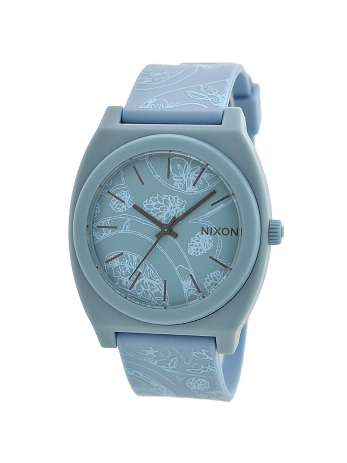 NIXON TIME TELLER P LIGHT BLUE PAISLEY